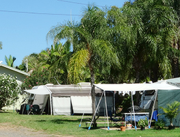 Poinciana Tourist Park camping sites